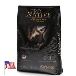 שק מזון לכלבים של פרו נייטיב בטעם עוף