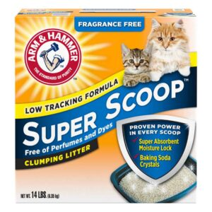 אריזת חול לחתולים סופק סקופ של ארם אנד האמר