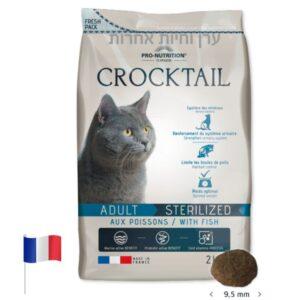 פלטזור קרוקטייל בשר דגים לחתולים