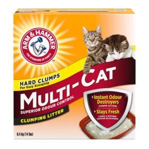 אריזת חול מולטיקט לחתולים של ארם אנד האמר