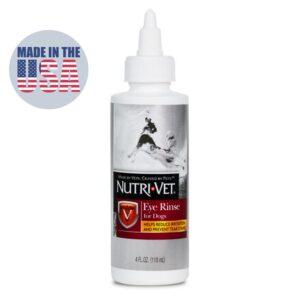 בקבוק טיפות עיניים לכלבים של NUTRI VET