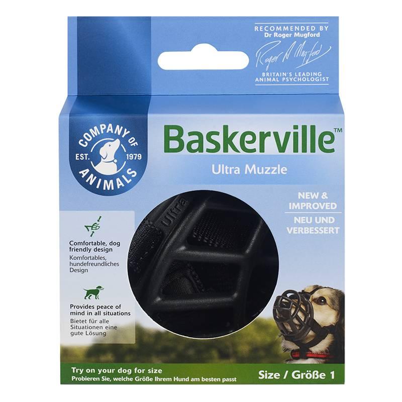 מחסום פה לכלבים של בסקרוויל באריזה