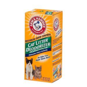 מנטרל ריחות לשירותי חתולים ארם אנד האמר