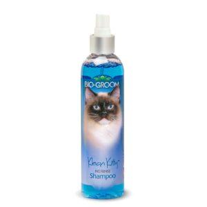 בקבוק שמפו יבש לחתולים ללא שטיפה עם מים של ביו גרום