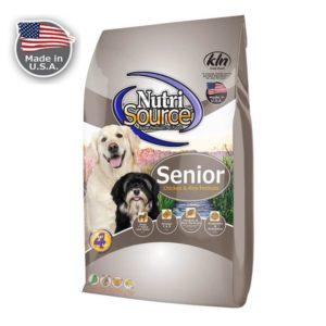 שק מזון לכלבים בגיל מבוגר (סניור) של נוטרי סורס