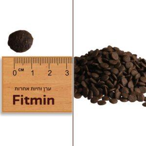 גודל הכופתיות של מזון פיטמין פיוריטי אינדור לחתולים