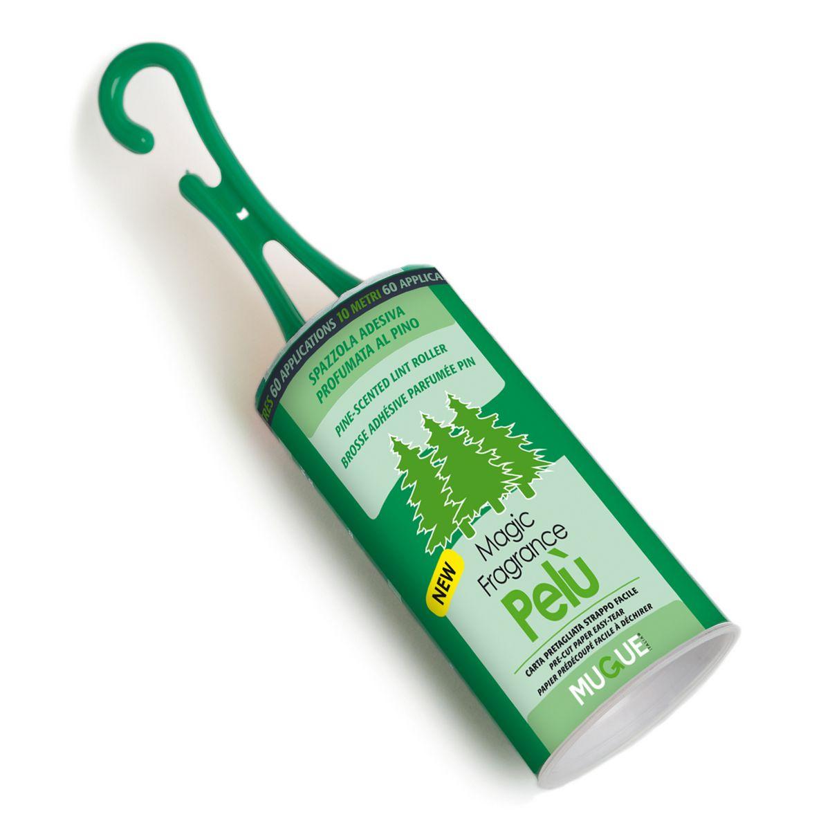 רולר ירוק + ריח להסרת שערות חיות המחמד מהבגדים של Mugue 60 דפים