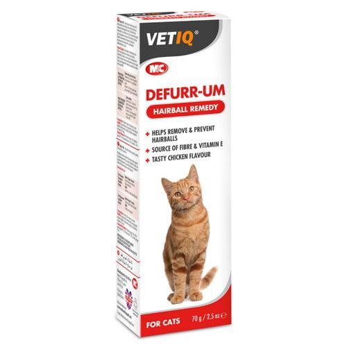 משחת Defurr למניעת כדורי פרווה בחתולים 70 גרם