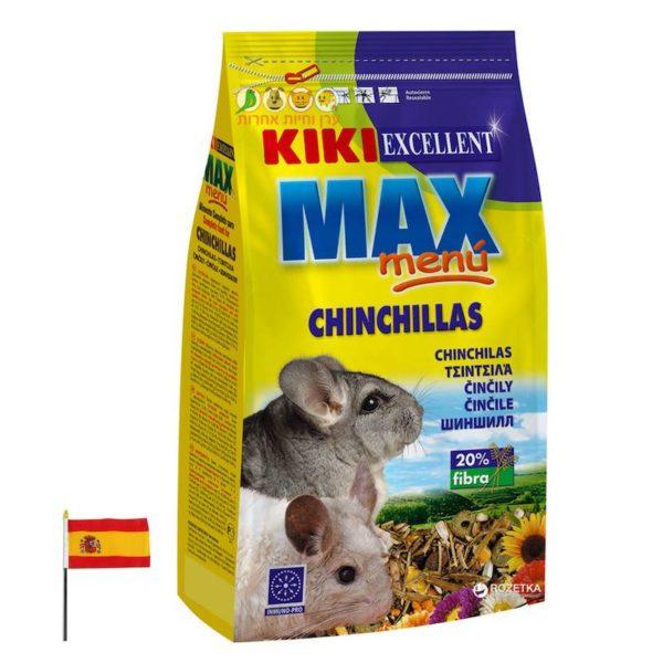 אוכל לצ'ינצ'ילות, ערו וחיות אחרות, קיקי