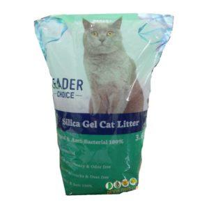 חול קריסטל לחתולים LEADER CHOICE