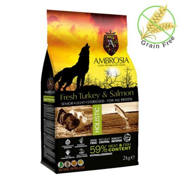 מזון הוליטסי לכלבים מבוגרים, אמברוסיה