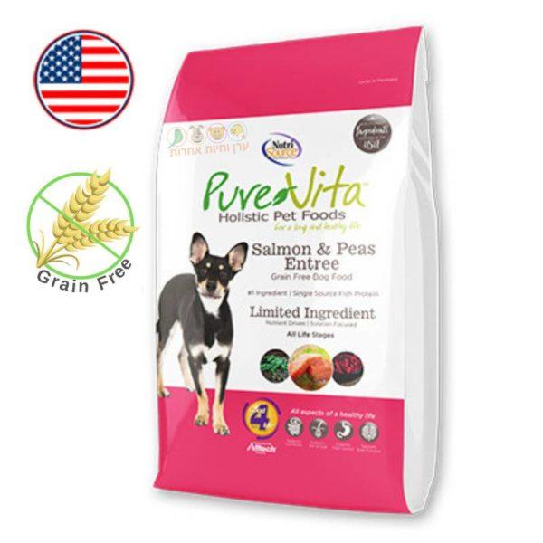 מזון לכלבים ללא דגנים, בשר הודו, פיור לייף