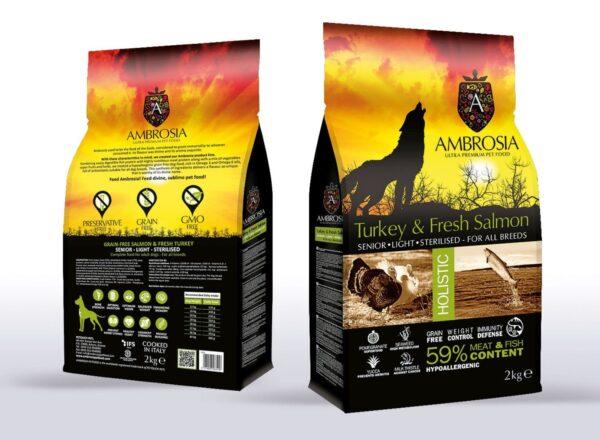 מזון לכלב מבוגר אמברוסיה