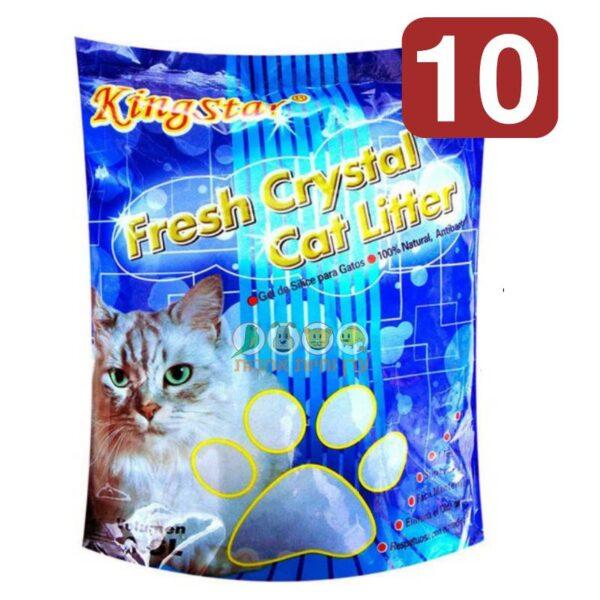 חול קריסטל לחתולים, קינג סטאר במבצע
