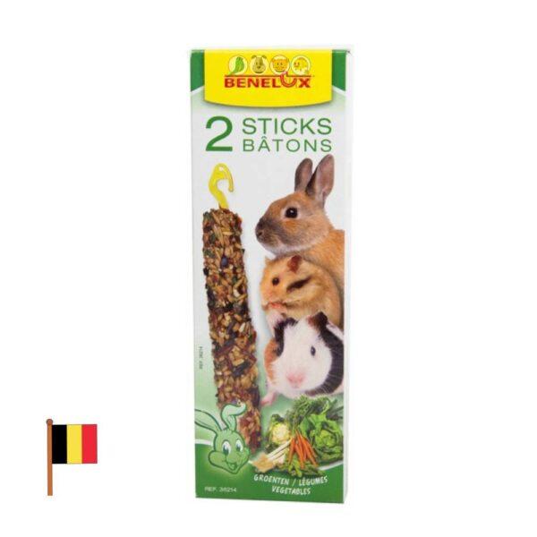 חטיף לארנבים בטעם ירקות שונים