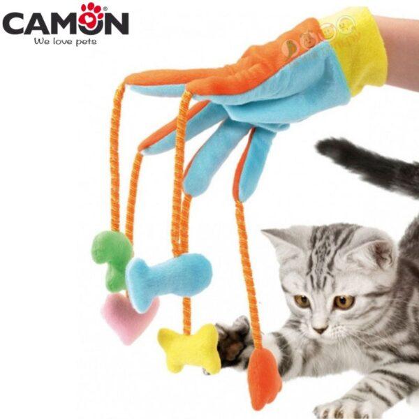 צעצוע לחתול הכפפה המשוגעת