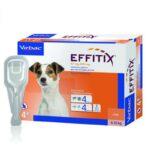 אפיטיקס מדביר פרעושים, כלב קטן, וירבק