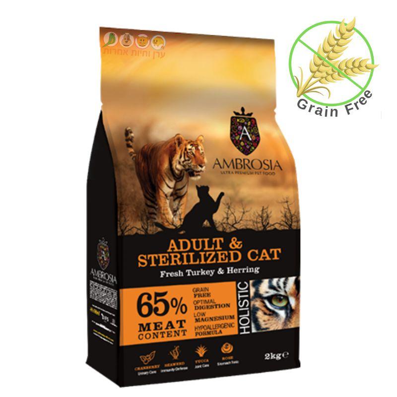 מזון אמברוסיה לחתולים