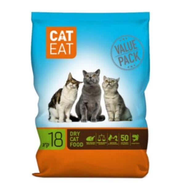 אוכל לחתולי רחוב, CAT EAT