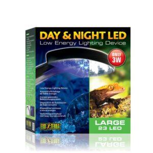 מנורה ליום ולילה בטרריום של אקזוטרה