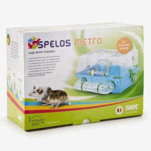 כלוב של סאביק לעכברים ואוגרים ארוז בקופסא