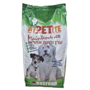 שק מזון לכלבים של אפטייט 15 קילו