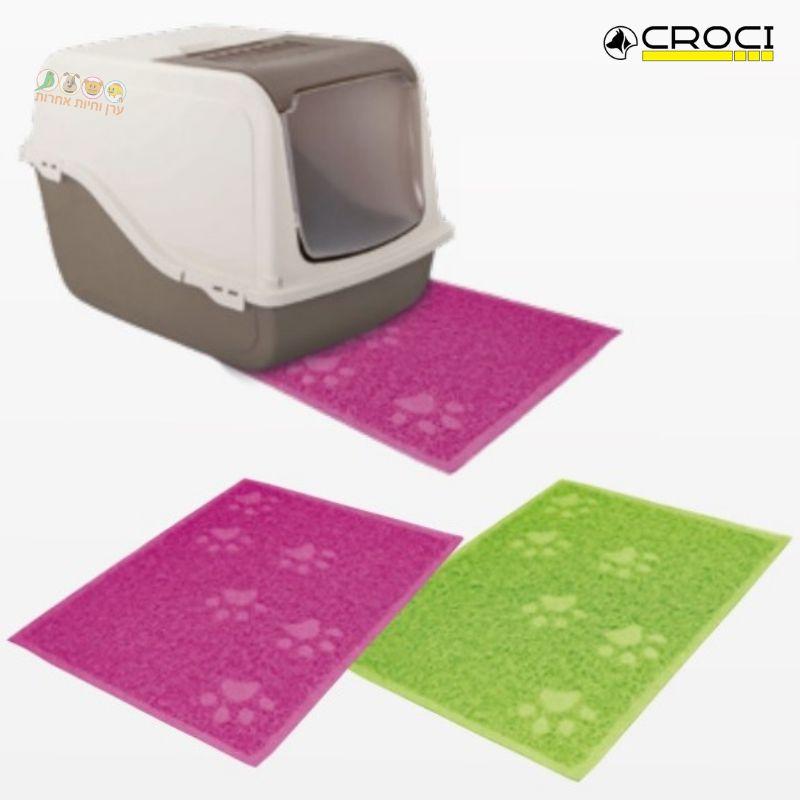 שטיח שירותים לחתול