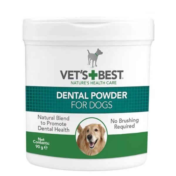 אבקה למניעת אבנית לכלבים, Vets Best