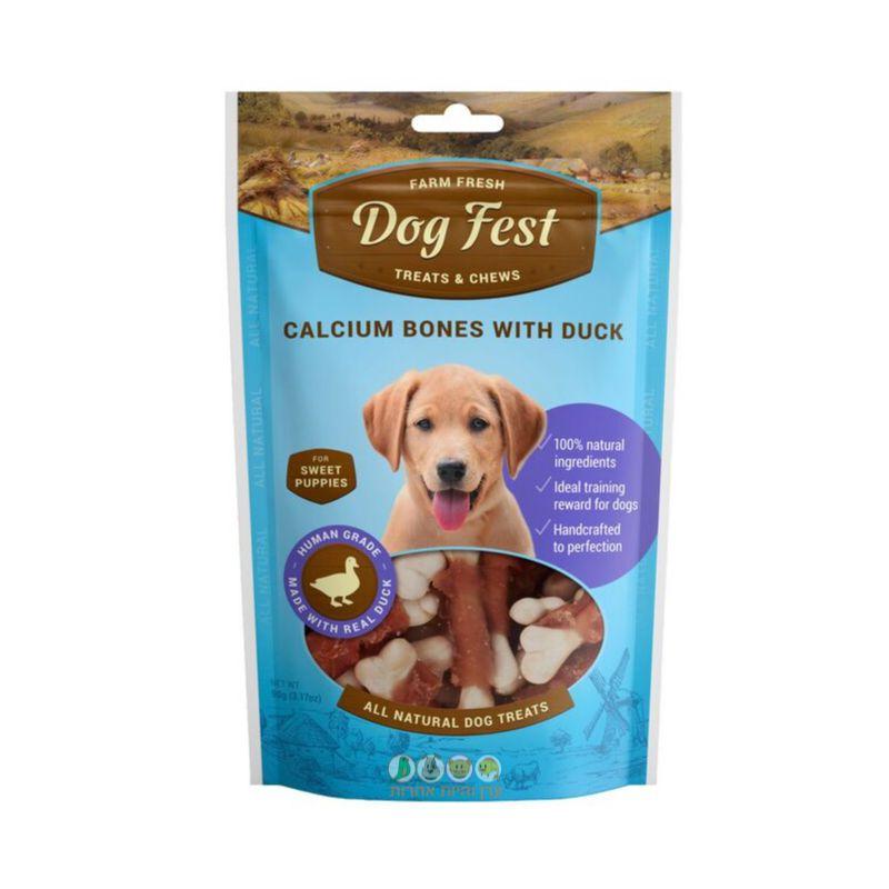 אריזת חטיף לגורים של כלבים