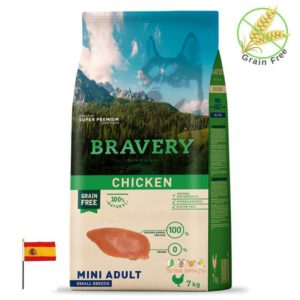 שק מזון לכלבים בטעם עוף, bravery