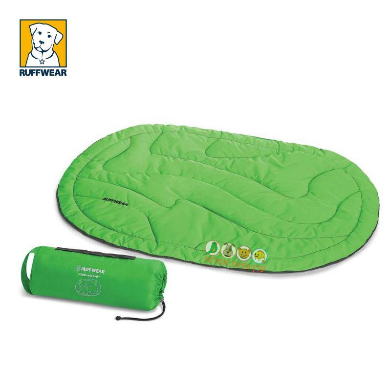 מיטת שטח מתקפלת לכלבים עם פאוץ'