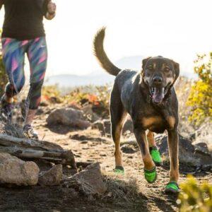 כלב רץ עם מגפיים של RUFFWARE