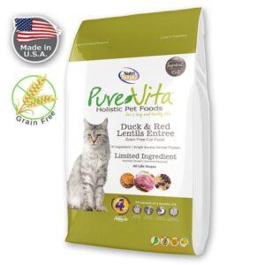 מזון PURE VITA לחתולים ללא דגנים