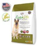 מזון לכלבים ללא דגנים בשר ברווז ועדשים, PURE VITA