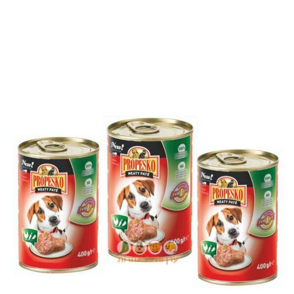 מזון רטוב לכלבים במבצע, פרופקסו