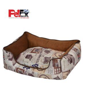 מיטה מועצבת לכלבים בסגנון וינטג'