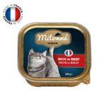 חפיסת מעדן לחתולים בטעם בשר בקר של מיטונה