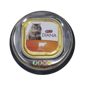 מתקן המיועד להניח מזון רטוב לכלבים וחתולים