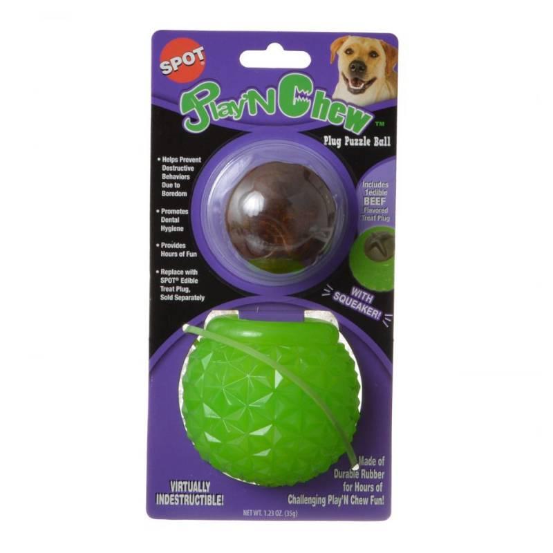צעצוע לעיסה לכלבים באריזה של SPOT