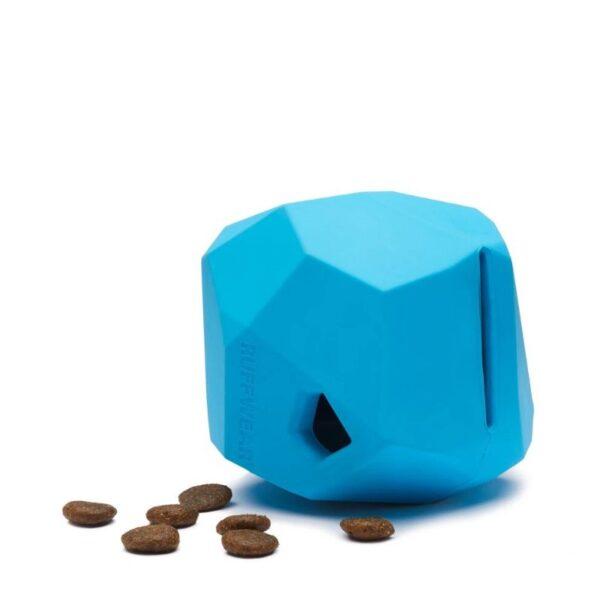 צעצוע נשיכה לכלבים בצורת סלע עם מילוי חטיף, RUFFWEAR