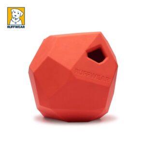 צעצוע לעיסה בצורת סלע של ראפוור, אדום
