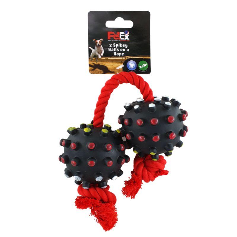 צעצוע לכלבים באריזה של חברת PETEX