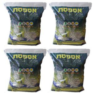 4 חבילות של מזון לארנבים צעירים, אספסת