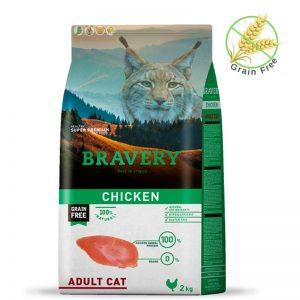 שק מזון ללא דגנים לחתולי של חברת ברוורי