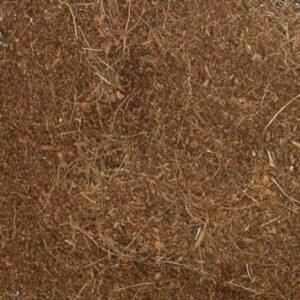 מצע אדמה דחוס לטרריום, קליפות קוקוס טבעיות