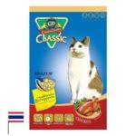 מזון לחתולים בטעם עוף של קלאסיק פטס תוצרת תאילנד