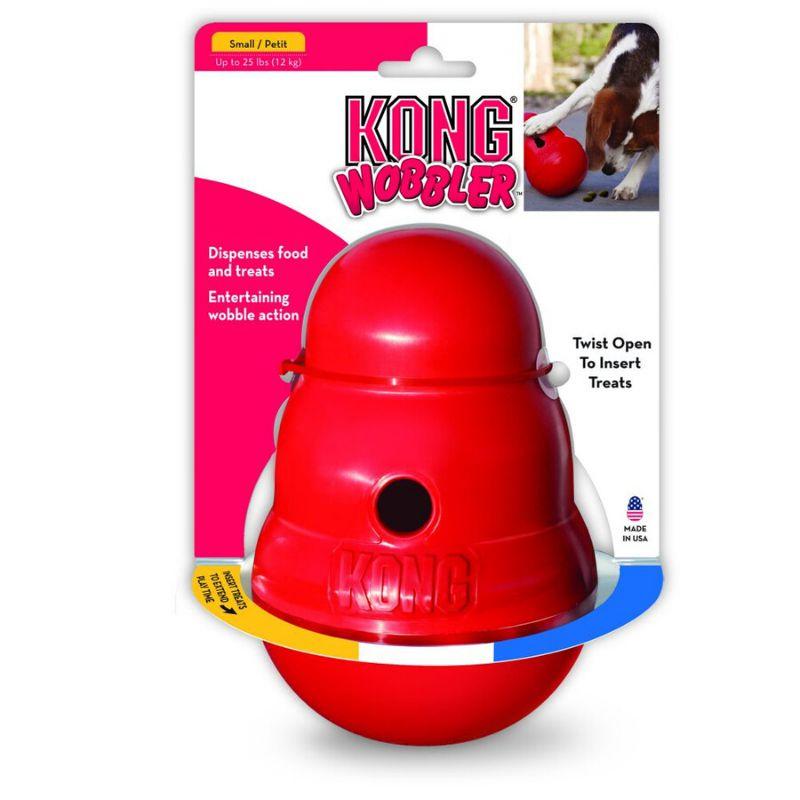 צעצוע לכלבים באריזה של KONG WOBBLER