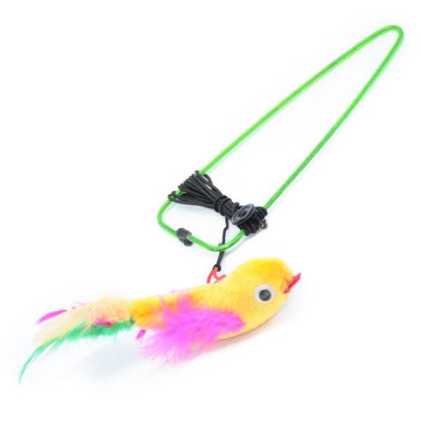 צעצוע ציפור בצורת ציפור לתליה, שעות של משחק
