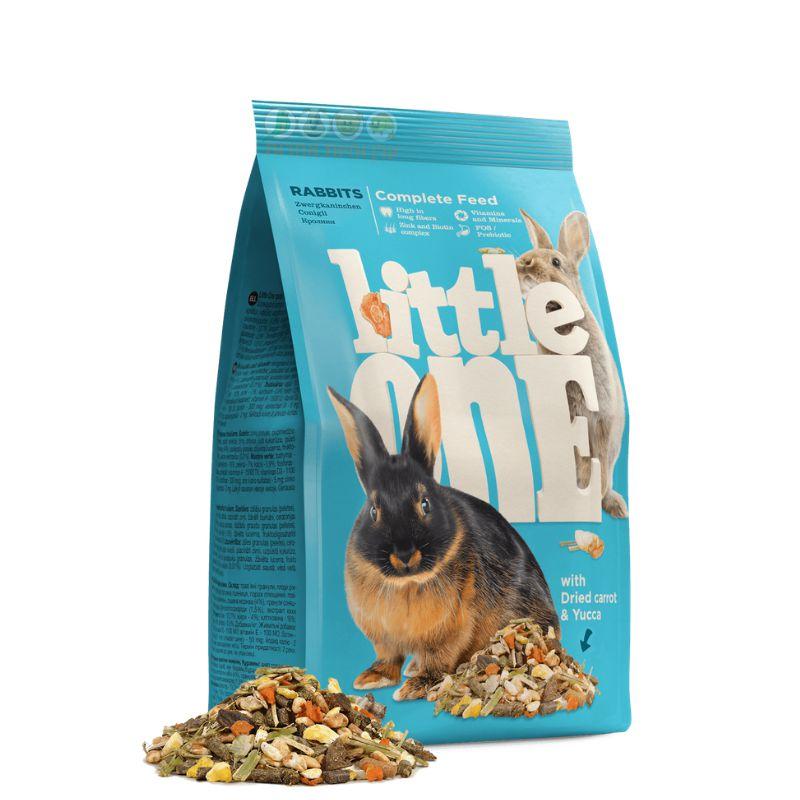 אריזת מזון מלא לארנבים של littel one