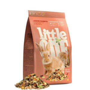 מזון לארנבים צעירים של חברת ליטל וואן